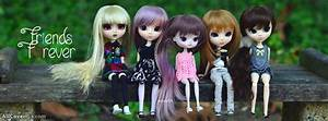 Friends Forever Cute Dolls Facebook Cover Photos