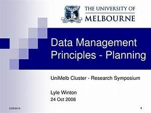 Ppt - Data Management Principles