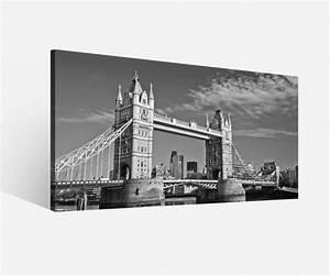 London Skyline Schwarz Weiß : leinwand 1tlg tower bridge schwarz wei london skyline stadt bilder holz 9h025 leinwandbilder ~ Watch28wear.com Haus und Dekorationen
