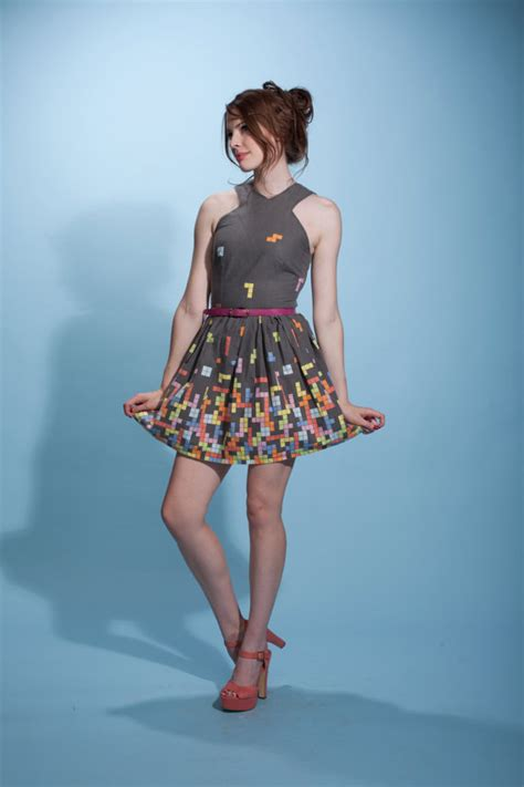 cute tetris dress pic global geek news