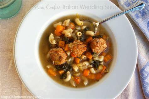 Easy Slow Cooker Italian Wedding Soup