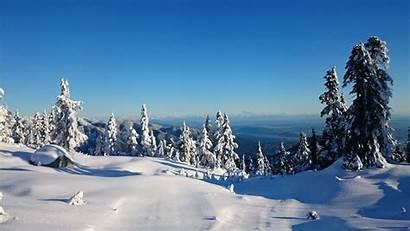 Ski Mountain Snow Mountains Canada Snowy Winter