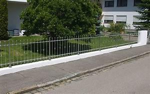 Gartenzaun LUGANO Aus Metall Gnstig Vom Hersteller