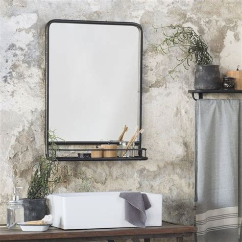 best 25 bathroom mirror with shelf ideas on framing mirrors framing a mirror and
