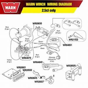 Warn Contactor 12vdc