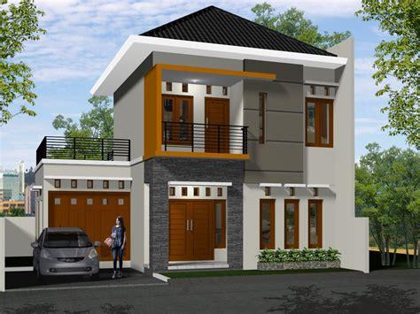 desain rumah minimalis  lantai modern terbaru