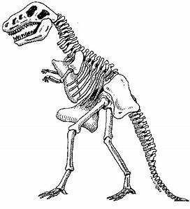 printable dinosaur skeleton pictures journaling ephemera With printable dinosaur skeleton template