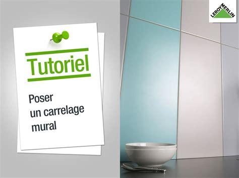 poser faience salle de bain comment poser un carrelage salle de bain
