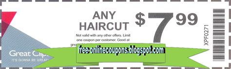 coupon great clips october 2018