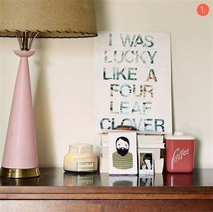 Roundup diy typographic wall art ideas curbly