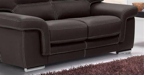 canapé marque aoste salon 3 2 buffle vachette cuir épais