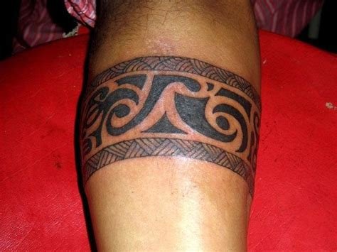 Cool Looking Tribal Band Tattoo  Tattoo Ideas Center