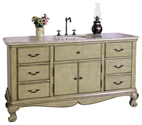 60 Inch Bathroom Vanity Single Sink by 60 Inch Single Sink Bathroom Vanity Traditional