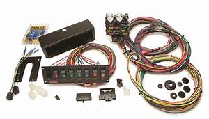 Painless Wiring 50003 21 Circuit Pro Street Chassis Harness W  Switch Panel