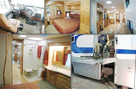 handicapped equipment handicapped equipped motorhomes