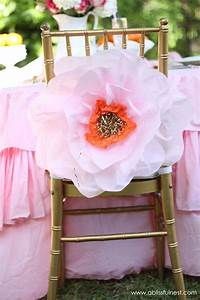 Oversized Tissue Paper Flowers DIY Tutorial