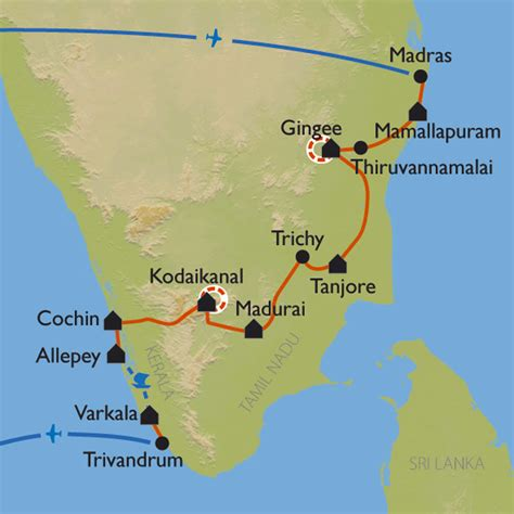 randonnee inde du sud balades du tamil nadu au kerala