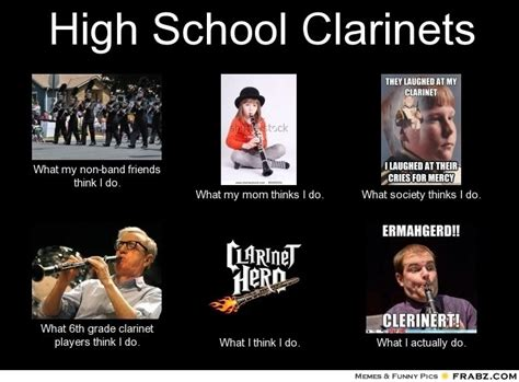 Clarinet Player Meme - clarinet memes nerd alert pinterest clarinets memes and marching bands