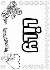 Lily Coloring Pages Printable Names Say Letter Tiger Water Drawing Colouring Hellokids Adult Getcolorings Grease Pad Getdrawings Flower Bullying Ide sketch template
