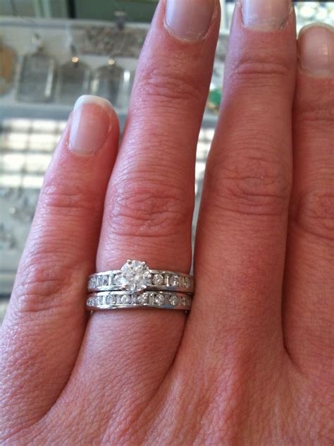 buying our wedding rings the bohemian