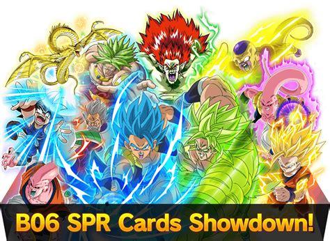 spr cards showdown strategy dragon ball super