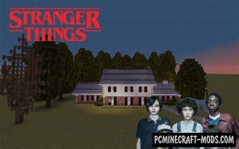 stranger  wheeler house map  minecraft   pc java mods