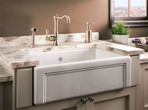 porcelain kitchen sinks 9 best kitchen sink materials you will 1590