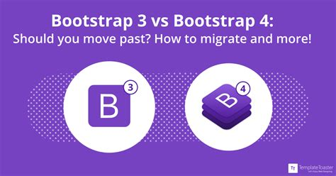 bootstrap 3 vs bootstrap 4 should you move what are the differences
