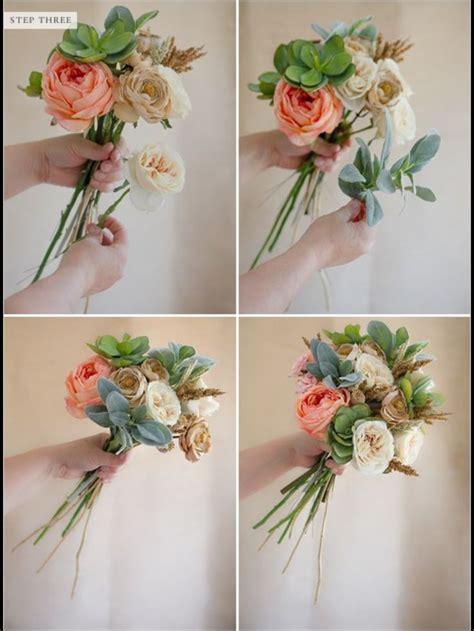 fake flower bouquets ideas  pinterest silk