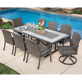 Outdoor Furniture Sets Costco by Outdoor Patio Dining Sets Costco