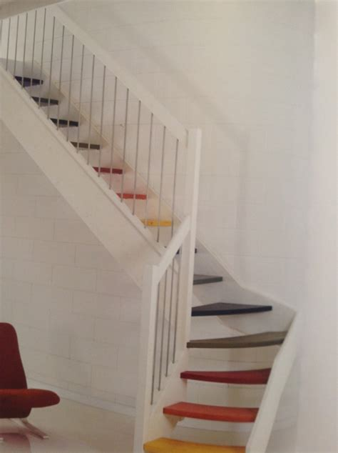 ringhiera in legno scale idea pavimenti