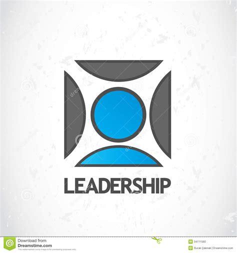 leadership logo design stock photo image