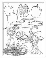 Coloring Apple Grove Candy sketch template