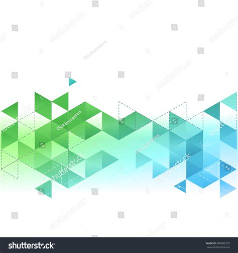 Blue And Green Vector Brochure Flyer Design Template Vector Abstract Template Background Blue Green Stock