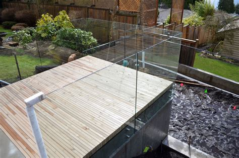 Glass Roof Over Deck
