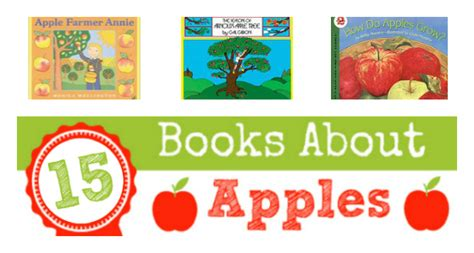 apple theme books for preschoolers pre k pages 777 | books about apples