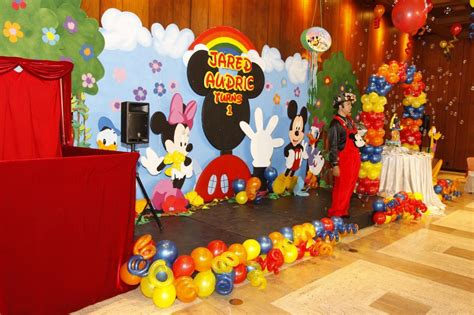Mickey Mouse Decorations by Mickey Mouse Decorations Balloon Decoration Ideas