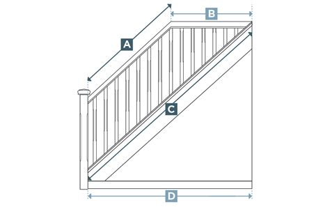 measure  staircase stair parts