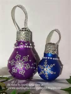 Craft with Christmas Light Bulbs