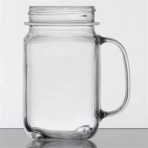 Get, Plastic, Mason, Jar, Cups, With, Handles, Case