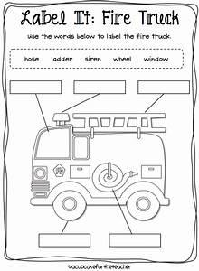 Fire Safety Kids  Craftivity  U0026 Printables  Plus A Freebie