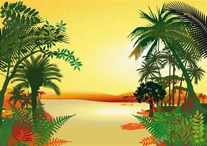 Pics For > Animated Jungle Background Vector