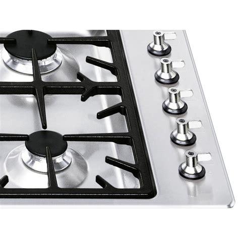 gaskochfeld 90 cm smeg gaskochfeld pgf95 4 edelstahl 90 cm fab appliances