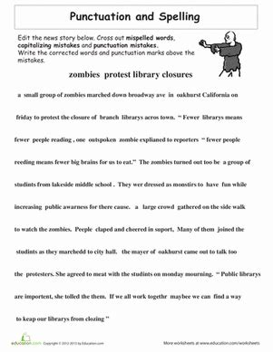 Proofreading Practice Punctuation And Spelling  Writing Station  Pinterest Punctuation