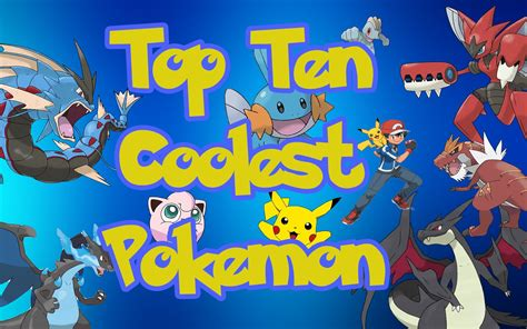 Top 10 Coolest Pokemon Of All Time Youtube