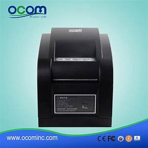 china direct thermal label barcode printer with usblanserial With chinese label printer