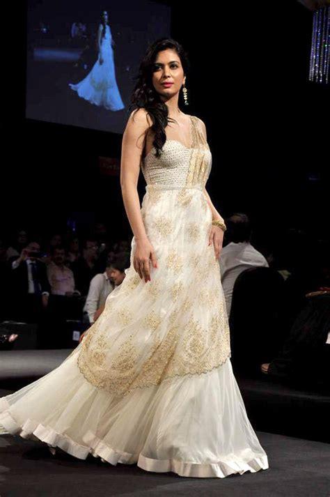 fashion club white indian bridal dresses