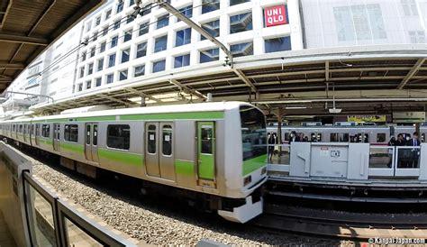 JR Yamanote Line in Tokyo