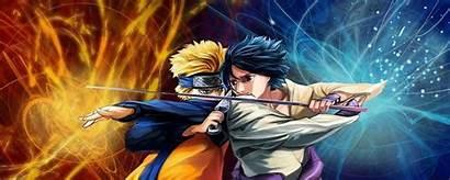 Naruto Monitor Dual Wallpapers Backgrounds Wallpaperaccess