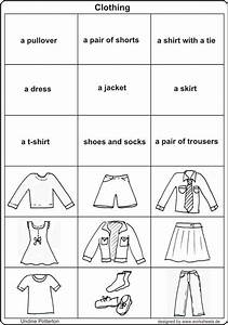18 Best Images Of Preschoolers Worksheet Identify Clothes
